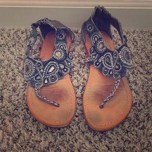 Jeweled Matisse Sandals